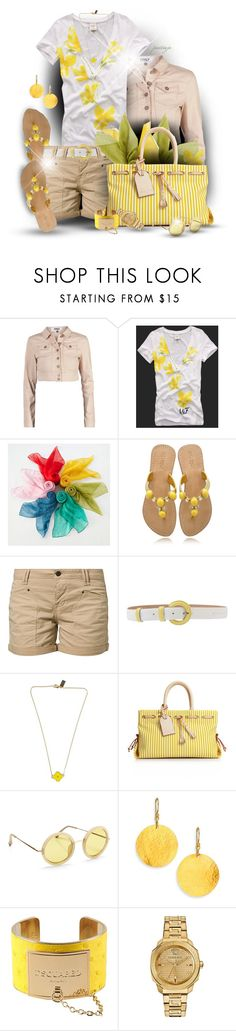 """""""Safari Yellow"""" by rockreborn ❤ liked on Polyvore featuring ONLY, Abercrombie & Fitch, Moonbasa, Mystique, MUSTANG, C'N'C, TIMI, Dooney & Bourke, The Row and Gurhan"""