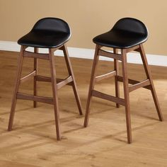 Simple Living Axel Mid Century Modern 30 Inch Stool (Set of 2)