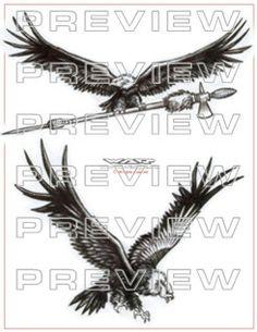 awesome condor tattoo design