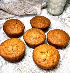 Gluten-Free Pumpkin Muffins Made with Oatmeal:  Unfortunately, they won't last very long. So, be sure to make plenty... I turned my husband loose on the muffins you see in the picture above and they ...