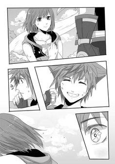 Sora x Kairi Destiny Islands Part 1 of 3 Kingdom Hearts III Kingdom Hearts 3 Credit to seraphily on tumblr