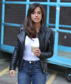 English actress and model Georgia May Foote was spotted outside ITV Studios in London on May, The looked casual and cool… Georgia May Foote Instagram, Hot Country Girls, Leder Outfits, Studios, Jackets For Women, Clothes For Women, Lace Up Booties, Sexy Outfits, Beauty Women