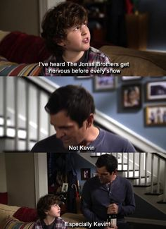 Modern Family Jonas Brothers oh how I love this show and the Jonas Brothers.
