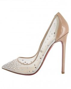 """See the """"Christian Louboutin Pump"""" in our Amazing Wedding Shoes gallery"""
