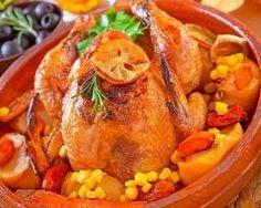 Dinde de thanksgiving aux légumes Ingrédients