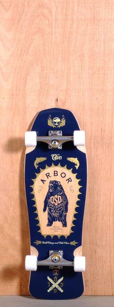 """Arbor 31"""" Oso Longboard Complete"""