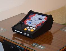 Retropie Arcade, Arcade Bartop, Arcade Joystick, Arcade Room, Mini Arcade, Arcade Games, Arcade Machine, Old Games, Nintendo Consoles