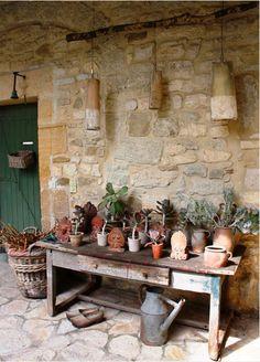 Foto: Decoração rústica   Reutilizar o antigo