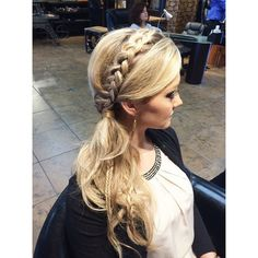 When your braid game is strong! Hair by Ellen  #cowanhair #cowanbraids #braidbar