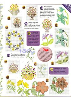 ru / Фото - The world of cross stitching 019 май 1999 - WhiteAngel 123 Cross Stitch, Small Cross Stitch, Cross Stitch Boards, Cross Stitching, Cross Stitch Embroidery, Wedding Cross Stitch Patterns, Cute Little Things, Le Point, Minis