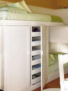 Dormir, estudiar y jugar - Habitacion infantil - Decoracion interiores - Interiores, Ambientes, Baños, Cocinas, Dormitorios y habitaciones - CASADIEZ.ES
