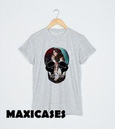 lana del rey skull T-shirt Men, Women and Youth