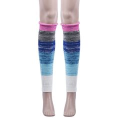 "Multi color block knit leg warmers NEW Multi color block knitted leg warmers. Colorful & FUN!! Features colors In dark pink, charcoal, navy, turquoise, aqua & ivory. Material: Acrylic Fibers. One size fit most; stretchy. Measures: 17"" Long. Soft & fashionable. You can flip them upside down or right side up depending on the look you want. So many ways to style these! Pair with boots, tights, leggings, skirts, or even your skinny jeans for a sweet cozy look! Brand new without tags! Accessories…"
