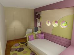 1000 images about habitaciones juveniles on pinterest Habitaciones juveniles rosa