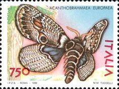 Francobollo Italiano > Italian stamps | Butterflies & moths ※