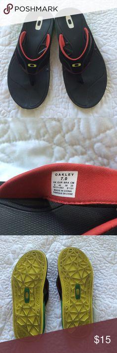 Mens Oakley Flip Flops Mens Oakley Flip Flops size 7 ac0218e2c38