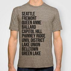 SEATTLE CITIES T-shirt