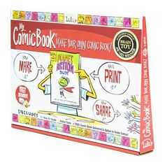 My Comic Book - Make Your Own Comic Book! by Lulu Jr.