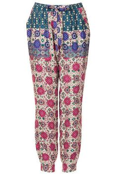Floral Utility Trousers