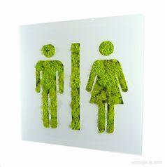 signalétique végétale... Être créatif dans les matériaux!