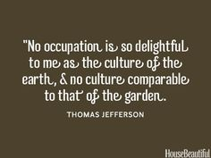 7 Thomas Jefferson Quotes - All About Gardens Thomas Jefferson Zitate, Thomas Jefferson Quotes, Organic Gardening Catalogue, Pinterest Photography, Garden Quotes, Garden Sayings, Famous Movie Quotes, Famous Words, Historical Quotes