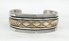 Bruce Morgan 14K Gold and Sterling Silver - WOW
