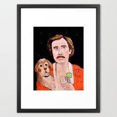 """Stay Classy"" Framed Art Print by Jordan Soliz | Society6"