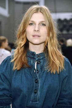 """"""" Clémence Poésy the Chloé show as part of Paris Fashion Week Fall 2017/2018 - March 2nd, 2017 """""""