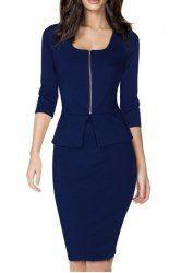 Work Dresses - Cheap Business Dresses & Office Dresses Online Sale At Wholesale Price   Sammydress.com