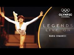 Romania's Nadia Comaneci scored the first perfect 10 in gymnastics at the Montreal 1976 Olympic Games and became a legend. Now, together with her Olympic cha. 1976 Olympics, Summer Olympics, Elite Gymnastics, Olympic Gymnastics, Olympic Medals, Olympic Games, Nadia Comaneci Perfect 10, Famous Gymnasts, Olympic Channel