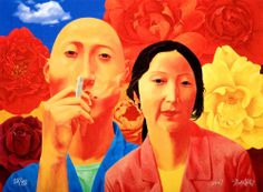 FANG LIJUN http://www.widewalls.ch/artist/fang-lijun/ #contemporary #art #contemporaryrealism
