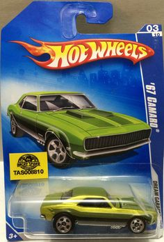 Mattel Hot Wheels Racing Stock Car - '67 Camaro This item is NOT in Mint Condition and is in no way being described as Mint or even Near Mint. Our toys have not always lead the perfect life, nor have