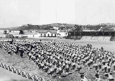 Campo dos Arcos inaugurado em 1913 pertença do Vitória de Setúbal