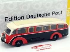 Mercedes-Benz LO3500 Meeting and Parlor car red / black 1:43 PremiumClassiXXs