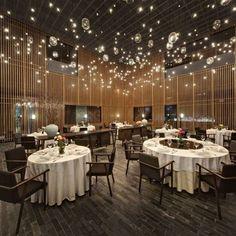 2013 Best restaurant and bar design award winners Lighting: The Feast (China) / Neri&Hu Design & Research.