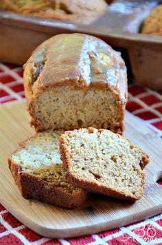 The 36th AVENUE | Banana Bread Recipe with Almond Glaze | The 36th AVENUE