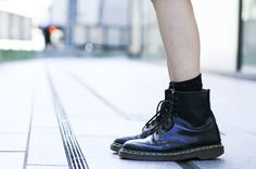 Brand: Dr.Martens  More photo at:  http://www.fashionsnap.com/streetsnap/2012-07-20/17717/#