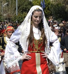 Greek Independence Day 2011 (March 25):  Traditional garb from the island of Crete.