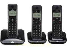 Teléfono inalámbrico Brondi port trio