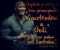 Dwayne Johnsson motivace česky http://on.fb.me/14rlJrj