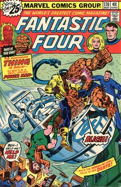 Cover for Fantastic Four May 1976 #170