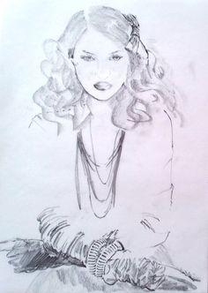 Fashion Illustration by Zorana Janic