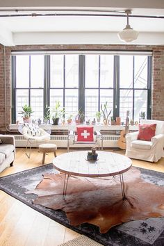 Un loft industriel & bohème à Brooklyn - FrenchyFancy