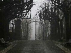 "autumnalphard: "" Cemetery Gate """