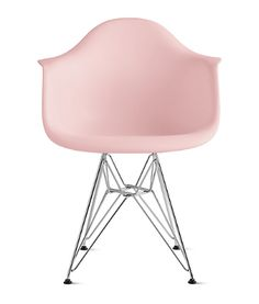 23 Pink home decor items that'll give your home a feminine touch   midcentury modern chair
