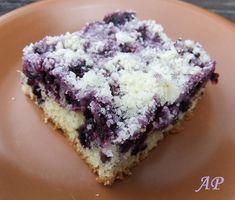 Borůvkový koláč Czech Desserts, Czech Recipes, Smoothies, Blueberry, Food And Drink, Cooking Recipes, Sweets, Candy, Vegan