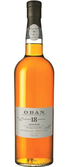 Oban - beautiful bottle, don't know much else about it
