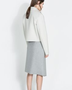 CROP STUDIO JACKET from Zara
