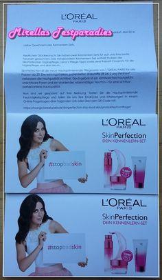L'ORÉAL PARIS Skin Perfection Feuchtigkeitspflege – Proben für meine Freundinnen.