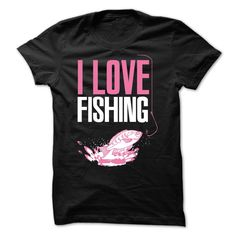 fun LOVE FISHING shirt
